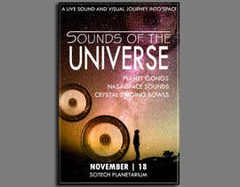 #194 for Design an A3 poster for a live music event with space theme. af erabhinendra
