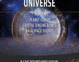 #208 for Design an A3 poster for a live music event with space theme. af yasineker