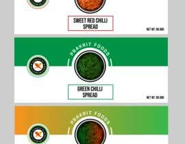 #7 for Create me a label for a spread/ sauces. I need three different labels for three different range. by Swoponsign