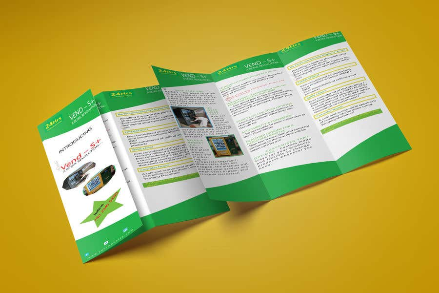 Contest Entry #                                        2                                      for                                         Design a Product brochure. A4 paper size for each page.