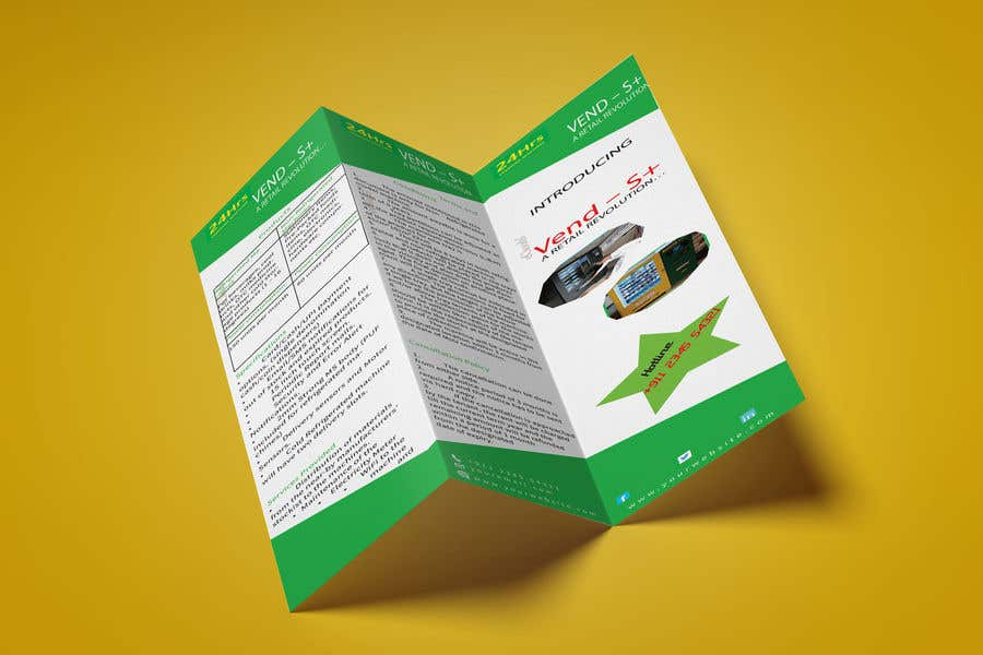 Contest Entry #                                        3                                      for                                         Design a Product brochure. A4 paper size for each page.