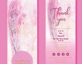#61 untuk I need to create an insert/thank you card oleh tahminamitu53