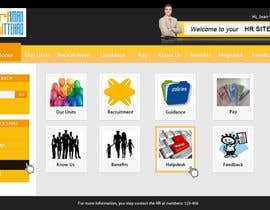 nº 10 pour Modify an existing Intranet Site for a department sub unit par dnljhn