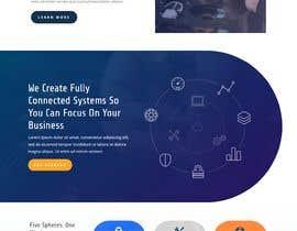 #104 untuk Build me a website and colour scheme/theme/branding. oleh Safint