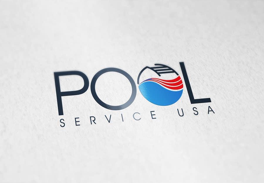 Konkurrenceindlæg #                                        66                                      for                                         Pool Service USA Logo