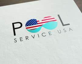 Atharva21 tarafından Pool Service USA Logo için no 63