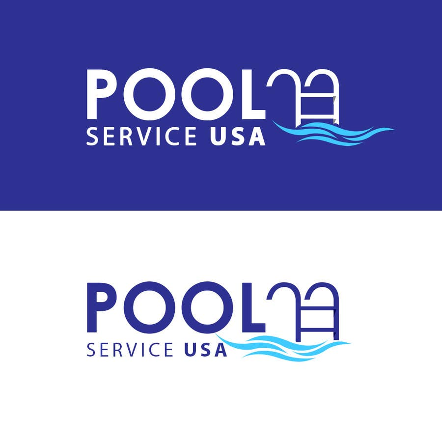 Konkurrenceindlæg #                                        44                                      for                                         Pool Service USA Logo