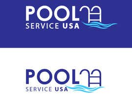 #44 for Pool Service USA Logo av CodepixelLab
