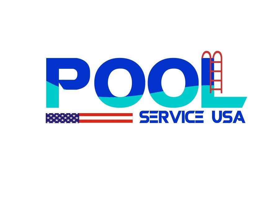 Konkurrenceindlæg #                                        26                                      for                                         Pool Service USA Logo