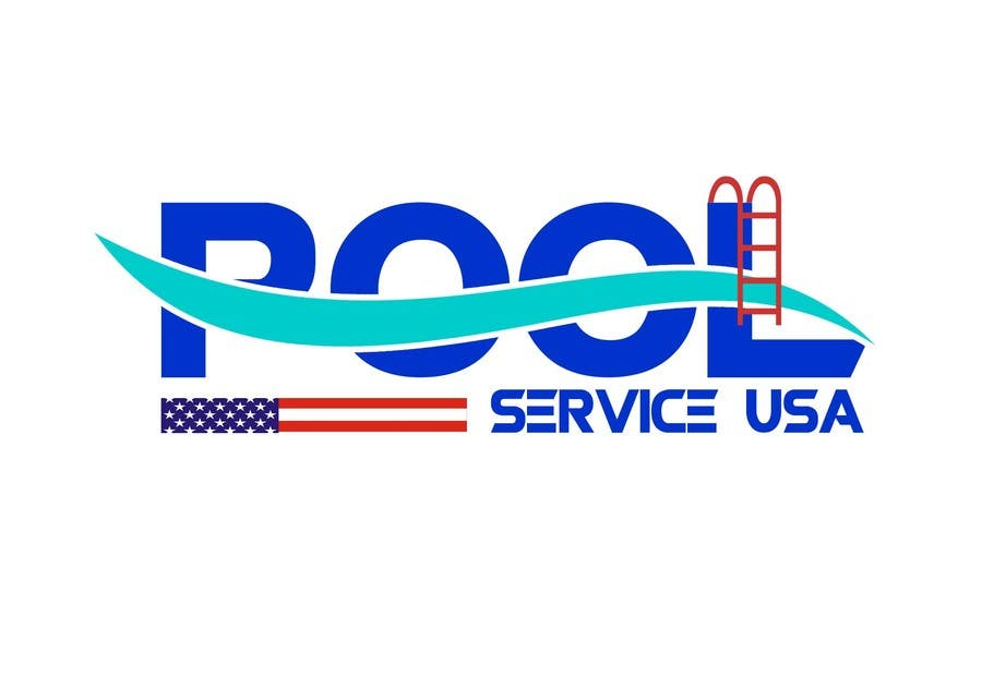 Konkurrenceindlæg #                                        28                                      for                                         Pool Service USA Logo