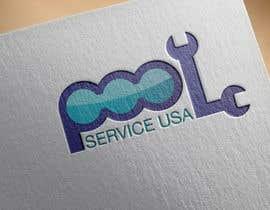 #47 pentru Pool Service USA Logo de către azzzulex