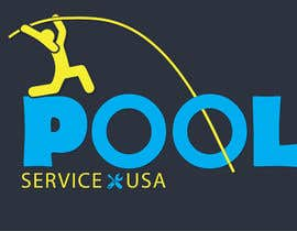 #51 untuk Pool Service USA Logo oleh azzzulex