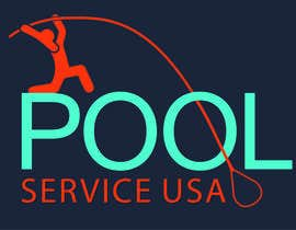 #52 for Pool Service USA Logo av azzzulex