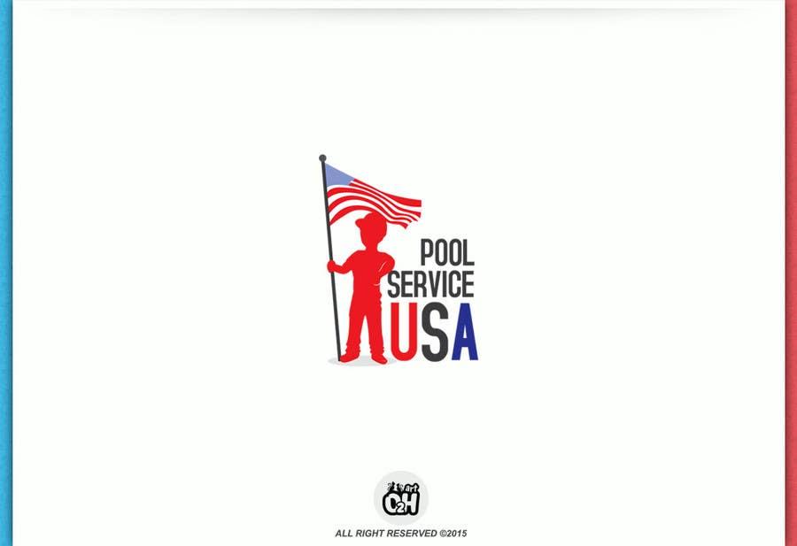 Konkurrenceindlæg #                                        58                                      for                                         Pool Service USA Logo