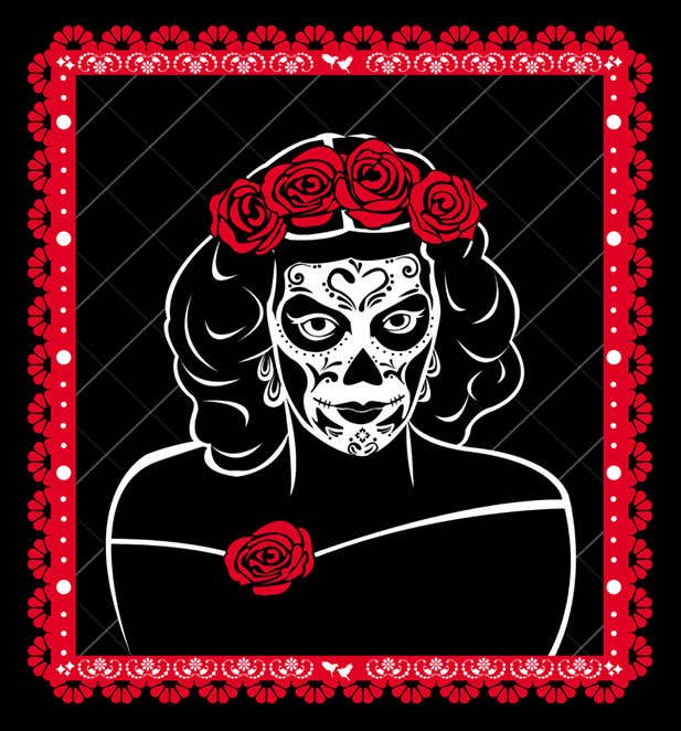 Penyertaan Peraduan #                                        38                                      untuk                                         Maria Felix Dia de Muertos