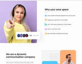 Nro 48 kilpailuun Design Concept for a WordPress landing page käyttäjältä syrwebdevelopmen