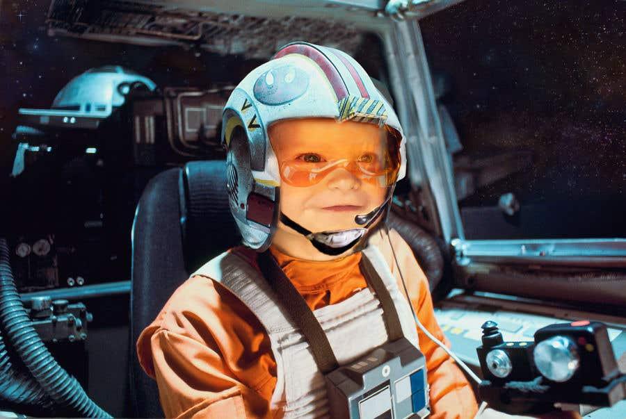 Inscrição nº                                         131                                      do Concurso para                                         Photoshop my son into this Star Wars Picture