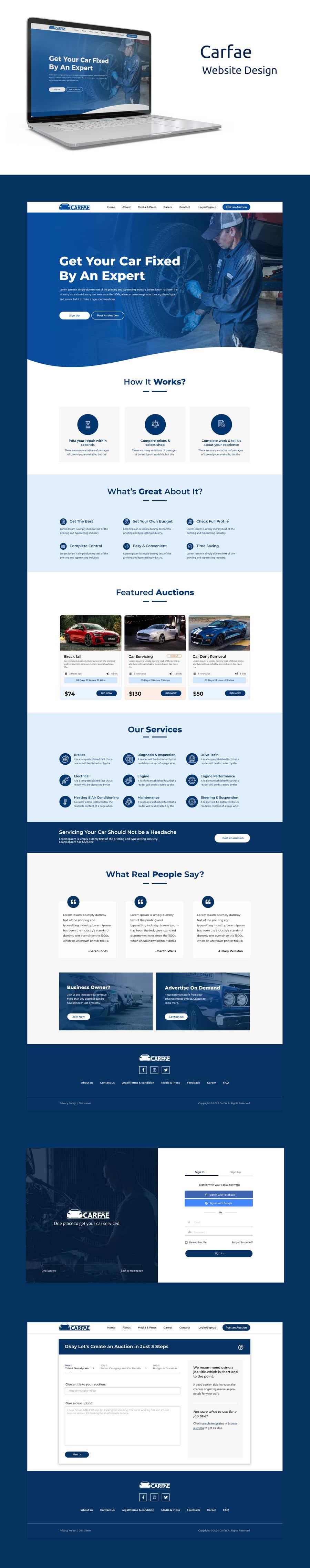 Penyertaan Peraduan #                                        99                                      untuk                                         Design website and all pages