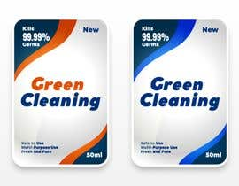 #49 for Green Cleaning Product line label by shihab98