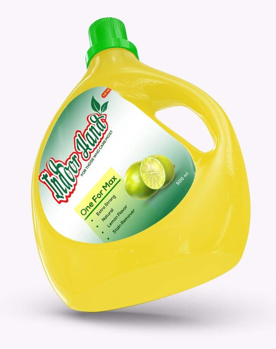 Contest Entry #                                        39                                      for                                         Green Cleaning Product line label