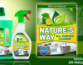 #46 for Green Cleaning Product line label by janaguilar82