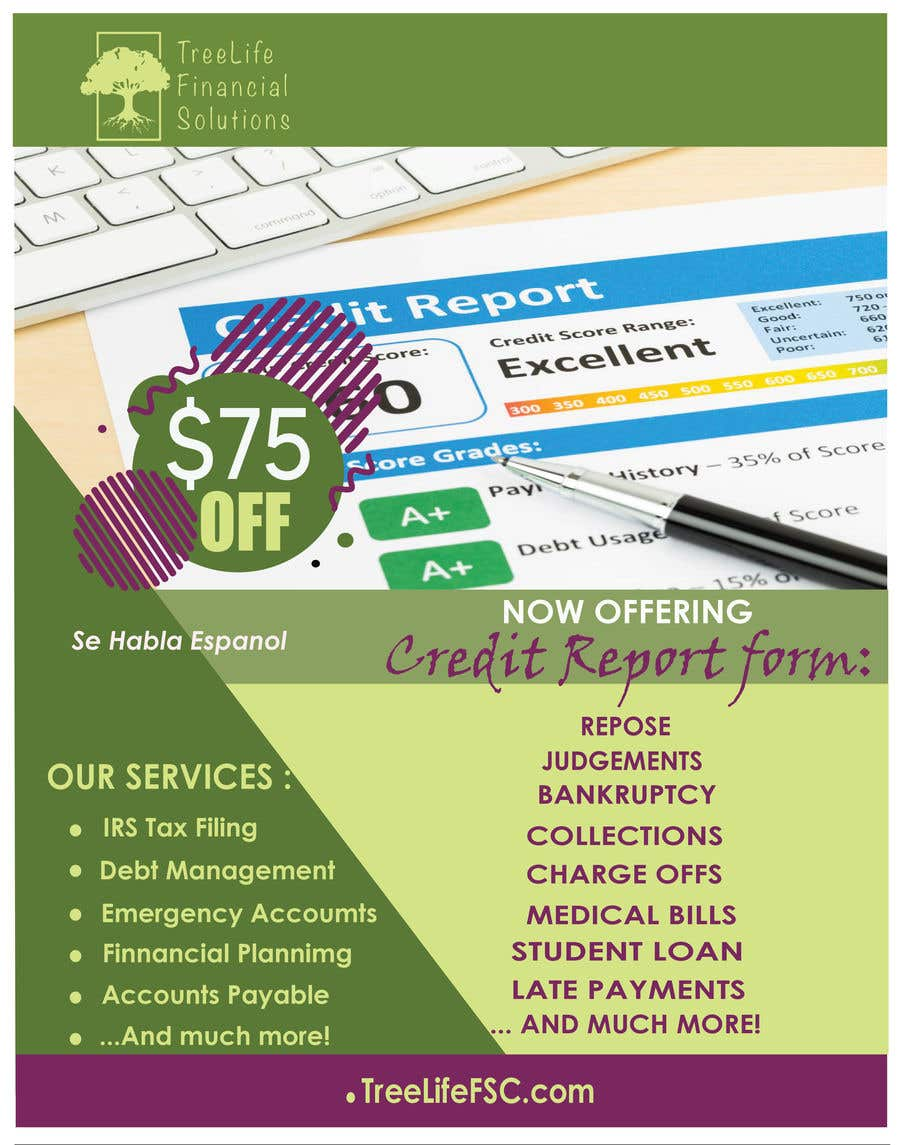 Contest Entry #                                        13                                      for                                         Credit Repair flyer - 23/09/2020 17:30 EDT