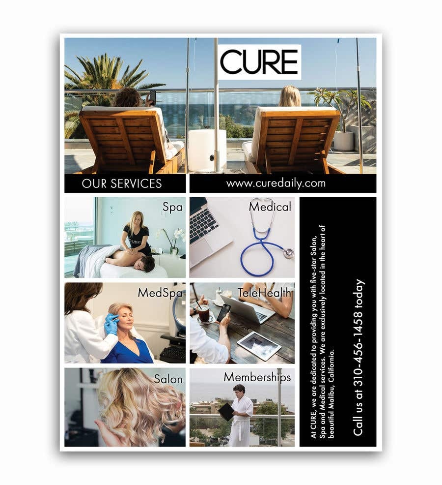 Contest Entry #                                        94                                      for                                         CURE Daily sell sheet