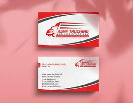 nº 53 pour Business cards - trucking company par rockondesign