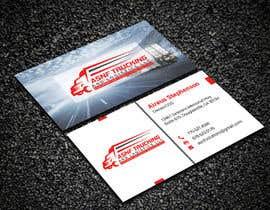 nº 126 pour Business cards - trucking company par Creativemoshiur9