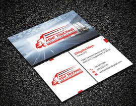 #127 for Business cards - trucking company af Creativemoshiur9