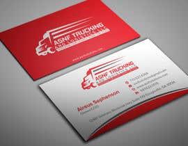nº 26 pour Business cards - trucking company par shobratadas