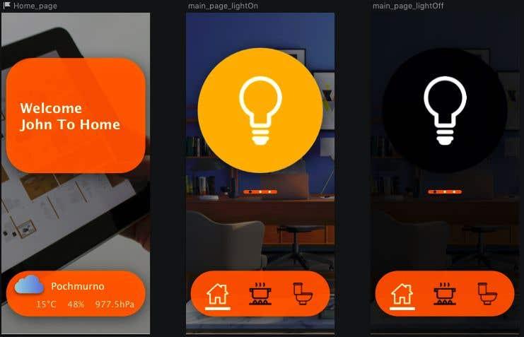 Contest Entry #                                        31                                      for                                         Mobile app design for smart home
