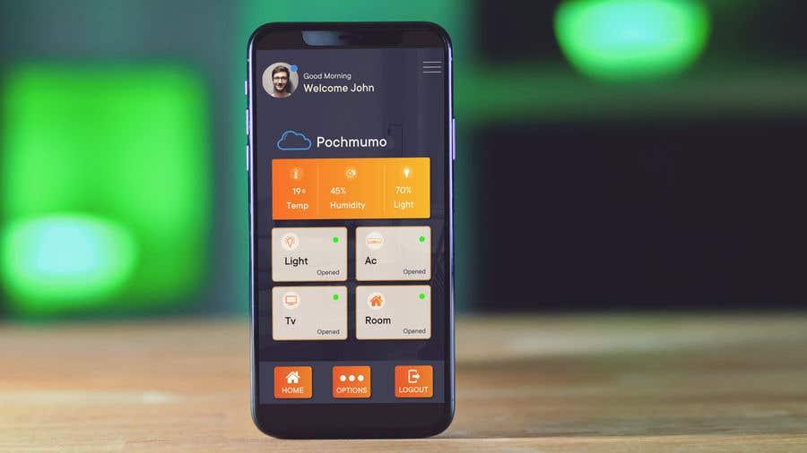 Contest Entry #                                        18                                      for                                         Mobile app design for smart home
