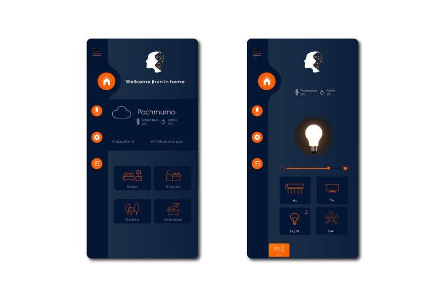 Contest Entry #                                        23                                      for                                         Mobile app design for smart home