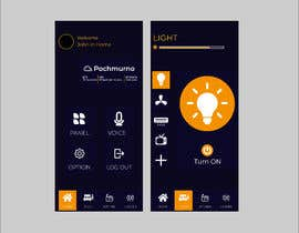 #33 for Mobile app design for smart home by manikmr2