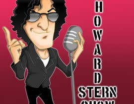 nº 11 pour Cartoon for The Howard Stern Show par kingmaravilla