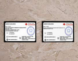 #138 for Business Card English and French by NiHaL1436