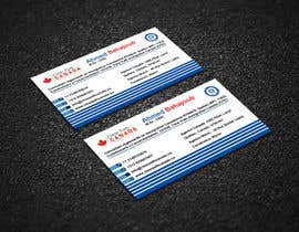 #132 for Business Card English and French by Sintomia