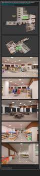 Miniatura da Inscrição nº                                                 33                                              do Concurso para                                                 Looking for a Supermarket Design/Layout/3D model with a space of 1,499sqm