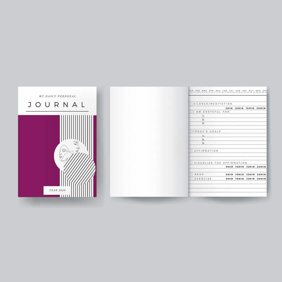 Kilpailutyö #                                        12                                      kilpailussa                                         Design a Journal (Cover + Page) for Print