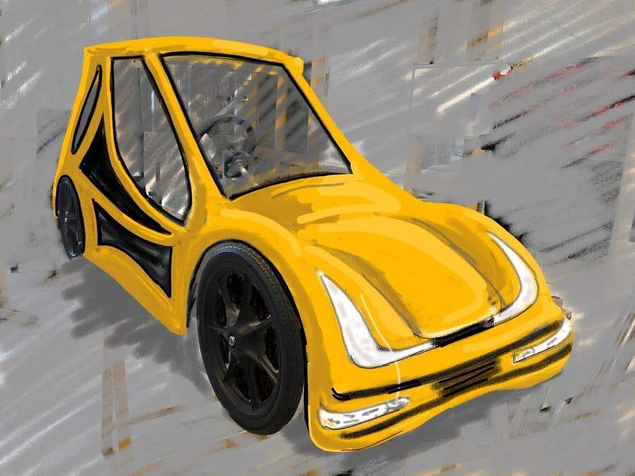 Contest Entry #                                        18                                      for                                         Design sketch for a tiny car for kids