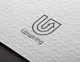 Nro 243 kilpailuun Create a logo for Upspring käyttäjältä tanjilahad547