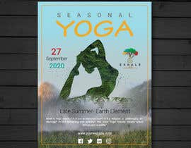 #55 for Yoga Flier Template by abrarsumon
