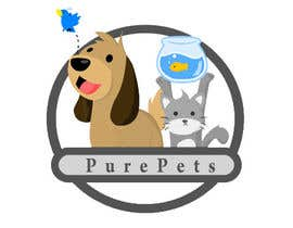nº 5 pour Cartoon anmimals for petshop logo par obair1057