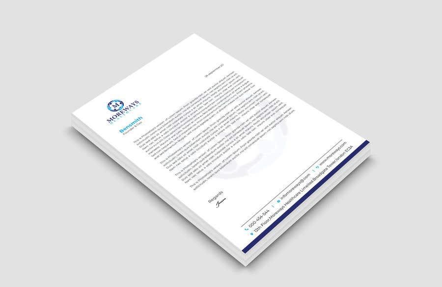 Bài tham dự cuộc thi #                                        146                                      cho                                         Design A4 Letterhead