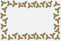 Graphic Design Contest Entry #3 for Christmas Card Postcard Border Design
