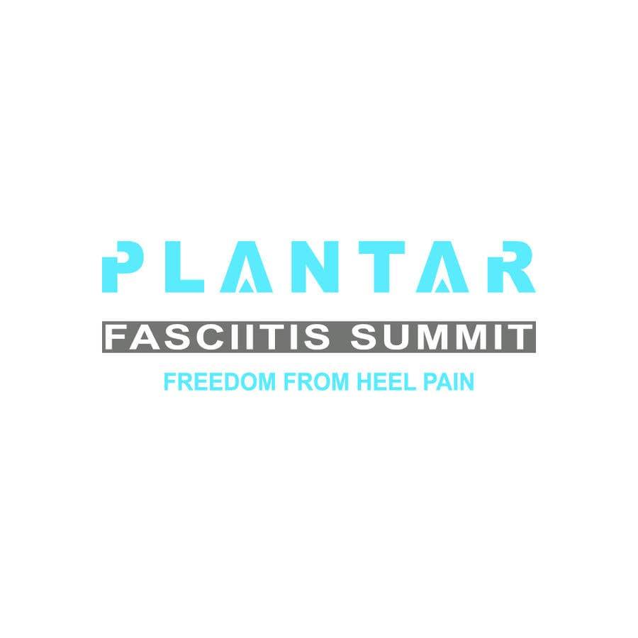 Bài tham dự cuộc thi #                                        62                                      cho                                         Plantar Fasciitis Summit Logo