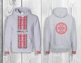 #238 untuk design a sweatshirt with slavic motiv oleh sukhiGD