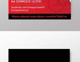 Nro 32 kilpailuun Design flyer/leaflet for company that sells sport photos käyttäjältä moslehu13