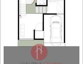 nº 59 pour Design a 2 floor house on 45sq meters plot with 2 floors par intan3113